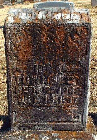 HARDWICK TOWNSLEY, IONA - Barry County, Missouri | IONA HARDWICK TOWNSLEY - Missouri Gravestone Photos