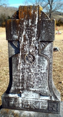 TUCKER, EMMA S - Barry County, Missouri | EMMA S TUCKER - Missouri Gravestone Photos