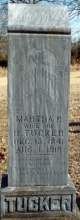 TUCKER, MARTHA P - Barry County, Missouri | MARTHA P TUCKER - Missouri Gravestone Photos
