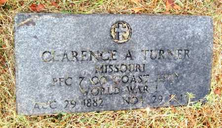 TURNER, CLARENCE ARTHUR - Barry County, Missouri | CLARENCE ARTHUR TURNER - Missouri Gravestone Photos