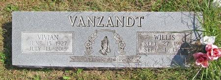 VANZANDT, WILLIS - Barry County, Missouri | WILLIS VANZANDT - Missouri Gravestone Photos