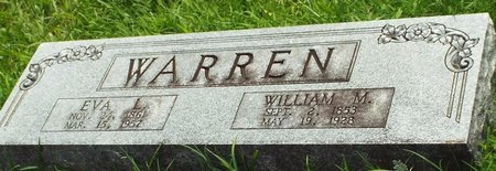 ANTLE WARREN, EVA JANE - Barry County, Missouri | EVA JANE ANTLE WARREN - Missouri Gravestone Photos