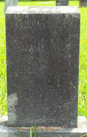 WARREN, JESSE WINTON - Barry County, Missouri | JESSE WINTON WARREN - Missouri Gravestone Photos