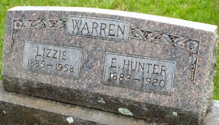 WARREN, ELIAS HUNTER - Barry County, Missouri | ELIAS HUNTER WARREN - Missouri Gravestone Photos