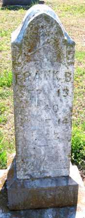 WATSON, FRANK B - Barry County, Missouri   FRANK B WATSON - Missouri Gravestone Photos