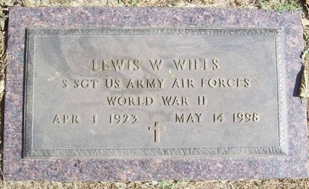 WILLS, LEWIS W (VETERAN WWII) - Barry County, Missouri | LEWIS W (VETERAN WWII) WILLS - Missouri Gravestone Photos