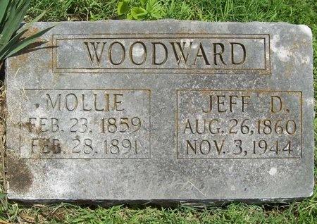 WOODWARD, MOLLIE - Barry County, Missouri   MOLLIE WOODWARD - Missouri Gravestone Photos
