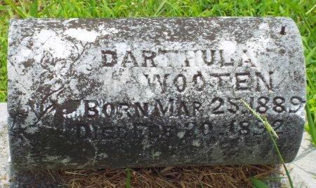 WOOTEN, DARTHULA - Barry County, Missouri | DARTHULA WOOTEN - Missouri Gravestone Photos