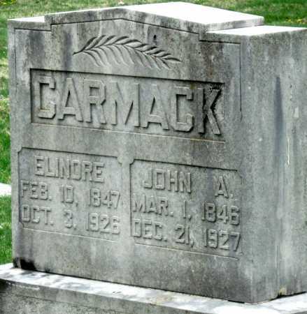 CARMACK, JOHN A - Barry County, Missouri | JOHN A CARMACK - Missouri Gravestone Photos