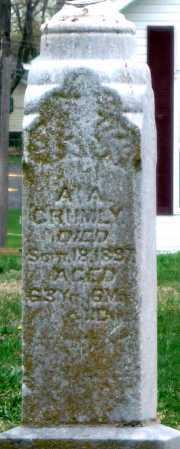 CRUMLY, A A - Barry County, Missouri | A A CRUMLY - Missouri Gravestone Photos