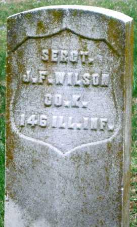 WILSON, JAMES F (VETERAN) - Barry County, Missouri | JAMES F (VETERAN) WILSON - Missouri Gravestone Photos