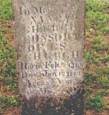 CHURCH, NANCY ANN - Cedar County, Missouri | NANCY ANN CHURCH - Missouri Gravestone Photos