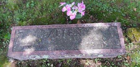 ALLEN, OSCAR - Christian County, Missouri | OSCAR ALLEN - Missouri Gravestone Photos