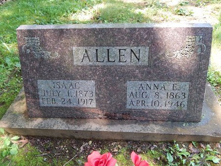 ALLEN, ANNA E - Christian County, Missouri | ANNA E ALLEN - Missouri Gravestone Photos