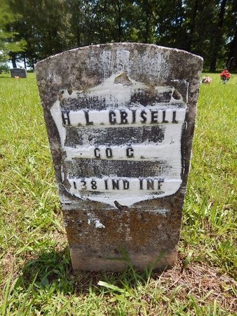 CRISELL, H L (VETERAN UNION) - Christian County, Missouri | H L (VETERAN UNION) CRISELL - Missouri Gravestone Photos