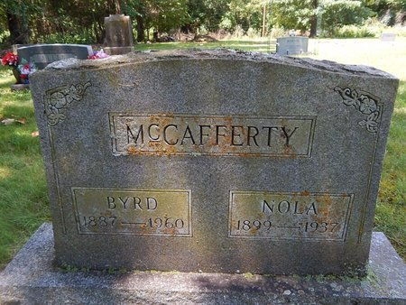 MCCAFFERTY, NOLA - Christian County, Missouri | NOLA MCCAFFERTY - Missouri Gravestone Photos