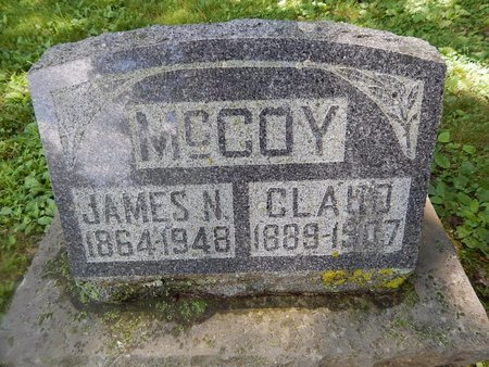 MCCOY, CLAUD - Christian County, Missouri | CLAUD MCCOY - Missouri Gravestone Photos