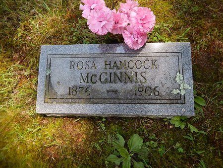 HANCOCK MCGINNIS, ROSA - Christian County, Missouri | ROSA HANCOCK MCGINNIS - Missouri Gravestone Photos