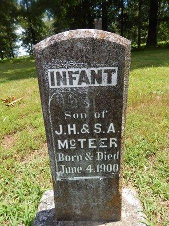 MCTEER, INFANT - Christian County, Missouri | INFANT MCTEER - Missouri Gravestone Photos