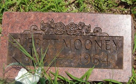MOONEY, EVERTT - Christian County, Missouri | EVERTT MOONEY - Missouri Gravestone Photos