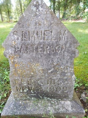 PATTERSON, SAMUEL M - Christian County, Missouri | SAMUEL M PATTERSON - Missouri Gravestone Photos
