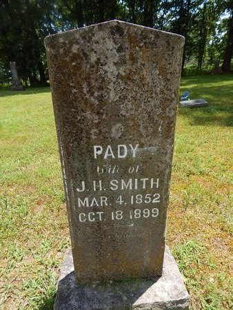 SMITH, PADY - Christian County, Missouri | PADY SMITH - Missouri Gravestone Photos