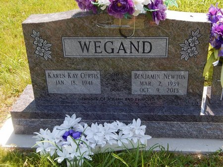 WEGAND, BENJAMIN NEWTON - Christian County, Missouri | BENJAMIN NEWTON WEGAND - Missouri Gravestone Photos