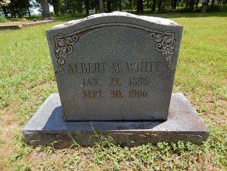 WHITE, ALBERT M - Christian County, Missouri | ALBERT M WHITE - Missouri Gravestone Photos