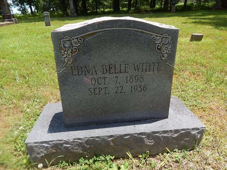 WHITE, EDNA BELLE - Christian County, Missouri | EDNA BELLE WHITE - Missouri Gravestone Photos