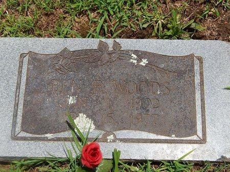 WOODS, BEN F - Christian County, Missouri | BEN F WOODS - Missouri Gravestone Photos