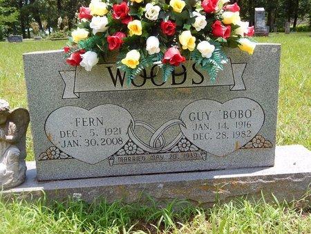 WOODS, FERN - Christian County, Missouri | FERN WOODS - Missouri Gravestone Photos