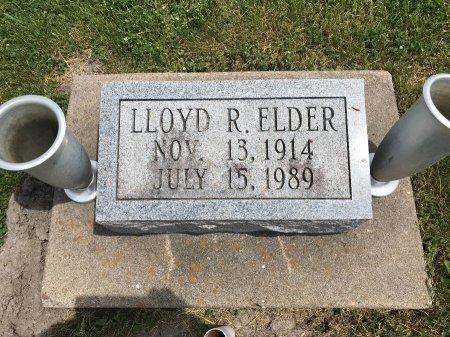 ELDER, LLOYD R. - Clark County, Missouri | LLOYD R. ELDER - Missouri Gravestone Photos