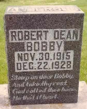ANDERSON, ROBERT DEAN - Dade County, Missouri | ROBERT DEAN ANDERSON - Missouri Gravestone Photos