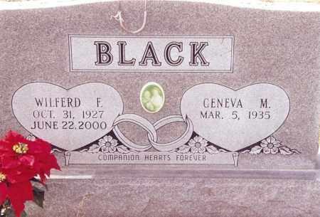 BLACK, WILFERD F. - Dent County, Missouri | WILFERD F. BLACK - Missouri Gravestone Photos