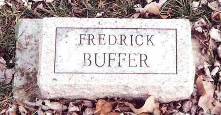 BUFFER, FREDRICK - Dent County, Missouri | FREDRICK BUFFER - Missouri Gravestone Photos