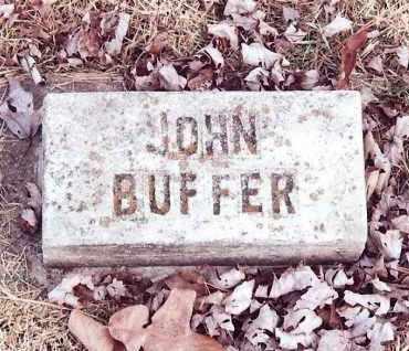 BUFFER, JOHN - Dent County, Missouri | JOHN BUFFER - Missouri Gravestone Photos