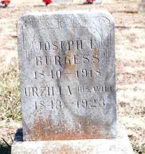 BURGESS, URZILLA - Dent County, Missouri | URZILLA BURGESS - Missouri Gravestone Photos