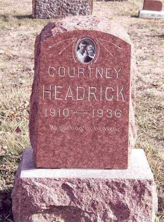 HEADRICK, COURTNEY - Dent County, Missouri | COURTNEY HEADRICK - Missouri Gravestone Photos