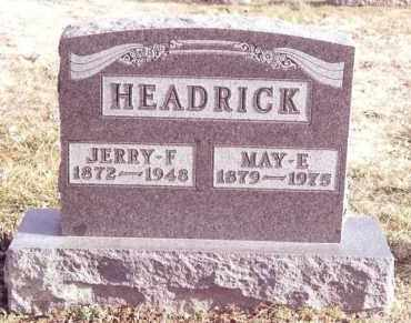 HEADRICK, JERRY F. - Dent County, Missouri | JERRY F. HEADRICK - Missouri Gravestone Photos