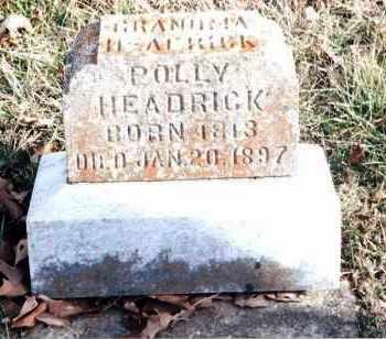 HEADRICK, POLLY - Dent County, Missouri   POLLY HEADRICK - Missouri Gravestone Photos