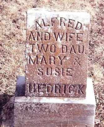 HEDRICK, WIFE (ELIZABETH) - Dent County, Missouri | WIFE (ELIZABETH) HEDRICK - Missouri Gravestone Photos