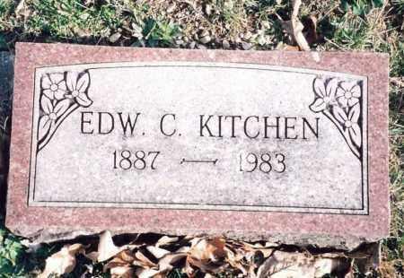 KITCHEN, EDWARD C. - Dent County, Missouri | EDWARD C. KITCHEN - Missouri Gravestone Photos