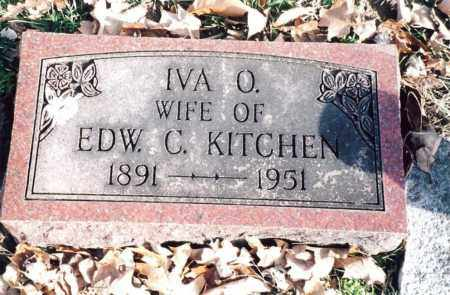 KITCHEN, IVA O. - Dent County, Missouri | IVA O. KITCHEN - Missouri Gravestone Photos