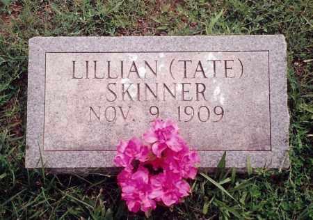 TATE SKINNER, LILLIAN LEONA - Dent County, Missouri   LILLIAN LEONA TATE SKINNER - Missouri Gravestone Photos