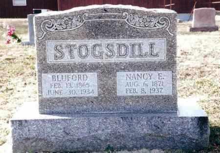 CRUMM STOGSDILL, NANCY E. - Dent County, Missouri | NANCY E. CRUMM STOGSDILL - Missouri Gravestone Photos