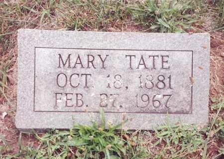 TATE, MARY - Dent County, Missouri | MARY TATE - Missouri Gravestone Photos