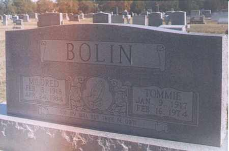 BOLIN, TOMMIE - Dunklin County, Missouri | TOMMIE BOLIN - Missouri Gravestone Photos
