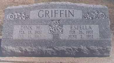 GROGAN GRIFFIN, ESTELLA - Dunklin County, Missouri | ESTELLA GROGAN GRIFFIN - Missouri Gravestone Photos