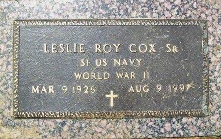 COX, LESLIE ROY SR (VETERAN WWII) - Franklin County, Missouri | LESLIE ROY SR (VETERAN WWII) COX - Missouri Gravestone Photos