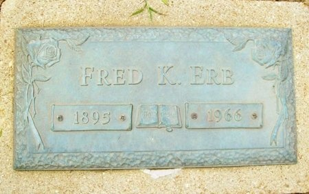 ERB, FRED K. - Franklin County, Missouri | FRED K. ERB - Missouri Gravestone Photos